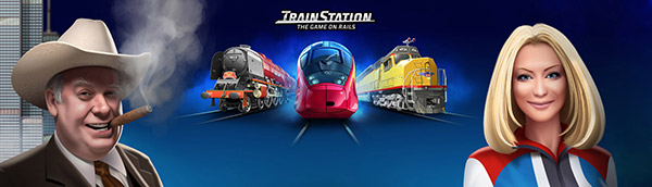 TrainStation - the best train game on rails