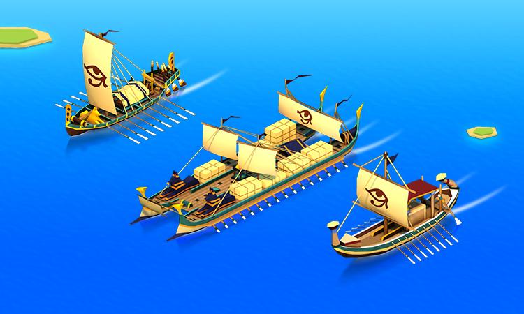 Egypt Ships